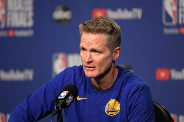 PLAYBOOK NBA GOLDEN STATE WARRIORS SLOB EOG (STEVE KERR)