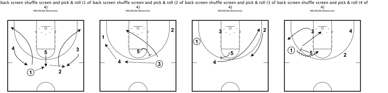 Michigan state princeton offense